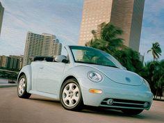 Volkswagen New Beetle Cabrio Volkswagen New Beetle, Volkswagen Transporter, Beetle Car, Blue Beetle, Volkswagen Golf, Volkswagen Convertible, Bug Car, Cute Cars, Porsche 356