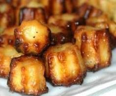 Mini cannelés bacon cantal