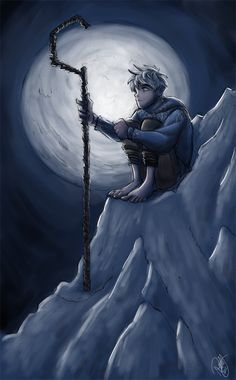 Rise Of The Guardians - Jack Frost and The Moon by Renny08.deviantart.com on @deviantART