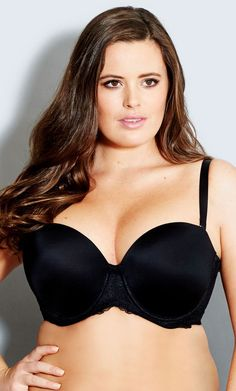 Our Smooth & Chic Multiway Contour Bra epitomises style and sophistication. Features include a strapless cup with moulded contour lining and underwire that gives shape and support, stretch lace along the front and back frame, fully adjustable shoulder straps that can be worn as regular, cross back, halter neck or strapless. The back wing is lined with powernet mesh and silicon to ensures bra stays in place and includes a padded hook and eye fastening for comfort and support.Size & Fit…