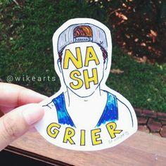 Nash Grier [ig: wikearts]