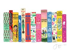 Ideal Bookshelf 660: Girl Stars by janemount on Etsy