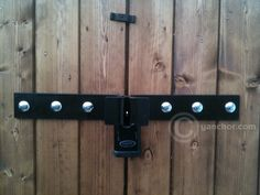 Shed Security Lock - Hasp