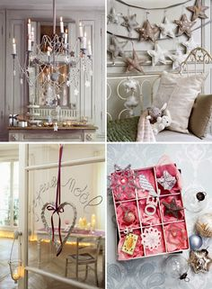 French style- love the star garland- for over her crib?