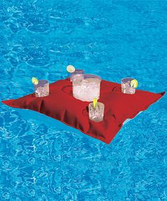 Red Kai Floating Beverage Caddy