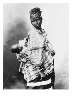 Senegalese mother and child, c. 1900