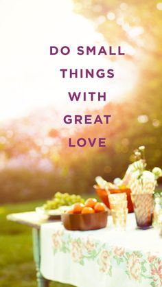 Do small things with great love. #FindYourYes #Kohls #quote