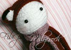 FIBI the fox made by crochetenfolie / crochet pattern by lalylala