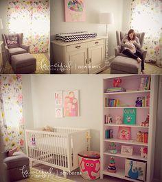 Newborn Nursery Inspiration | http://fancifulphotography.com