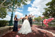 Kristin & Timothy's Sago Cay Pointe Memories Collection Disney Wedding