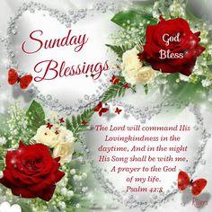 Sunday Blessings (Psalm 42:8)