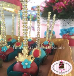 Elena of Avalor Cake Pops by Tutu's Art!