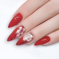 Go romantic! ❤  #nails #nailsbyfxbeauty #nailart #nailsfashion #lovenails