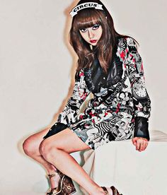MEEWEE DINKEE 2015AWのLook bookだぜ モデルは中村里砂ちゃんだぜ #MEEWEEDINKEE #2015AW #少女椿 #見世物小屋 #丸尾末広 #丸尾末広コラボワンピース #みどり #himetokyo #circus #サーカス #Tokyofashion #fashion #Japaneseart #Japanesefashion #japan #art #中村里砂