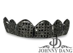 TVJ-8008A 6 Teeth Diamond Grill in Prong Setting, Johnny Dang & Co
