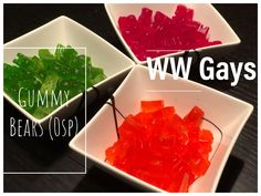 In this video we show you how we make 0 point gummy bears! Please note that even though these treats are 0 points, you should still eat them sparingly. Weight Watchers Breakfast, Weight Watchers Diet, Diet Recipes, Cooking Recipes, Healthy Recipes, Healthy Food Options, Healthy Snacks, Gummy Bears, Sweet Treats