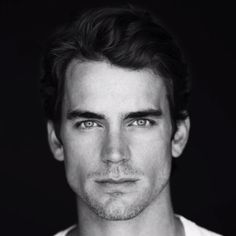 Matt Bomer, great portrait/head shot. Amazing perspective, great contrast, beautiful highlight on hair.