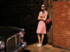 Edita Vilkeviciute stars in Bally spring summer 2016 campaign
