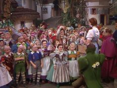 """munchkins """"The Wizard of Oz"""""""