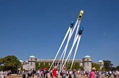 Porsche Sculpture By Gerry Judah at Goodwood Festival of Speed 2013