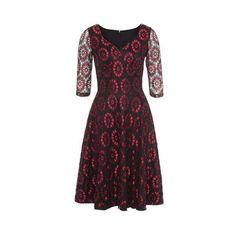 Společenské/večerní šaty Voodoo Vixen Ava naprosto dokonalé šatičky od voodoo vixen, určené pro slavnostnější příležitost - na ples, do divadla, večírek, na svatbu. nádherně vypadají a skvěle padnou