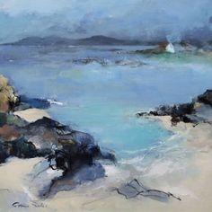 Seascapes, seascape painting, seascape art by Patricia Sadler Abstract Landscape Painting, Seascape Paintings, Landscape Art, Landscape Paintings, Coastal Art, Modern Landscaping, Landscaping Design, Ocean Art, Contemporary Landscape
