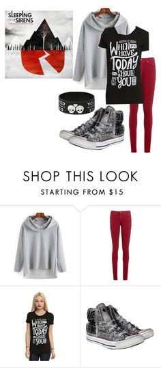 """With ears to see and eyes to hear/SWS"" by actual-sinnamonrol ❤ liked on Polyvore featuring Tommy Hilfiger and Converse"