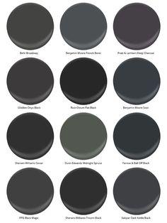 12 no-fail black paints.