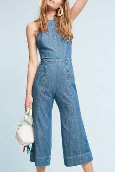 '70s jumpsuits. Get the best fall denim trends here.