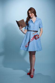 AHHHHH!   the ash dress by nerdalertdesigns on Etsy, $125.00