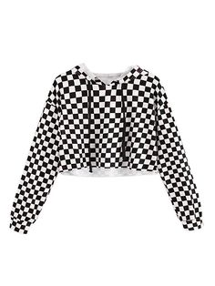 Kids Crop Tops Girls Sweatshirts Long Sleeve Plaid Hoodies - Black - - Girls' Clothing, Fashion Hoodies & Sweatshirts # Source by ekidshowcom outfits black girl Cute Girl Outfits, Kids Outfits Girls, Teen Fashion Outfits, Cute Casual Outfits, Cute Outfits For Kids, Cute Clothes For Kids, Fashion Kids, Women's Casual, Crop Tops For Kids