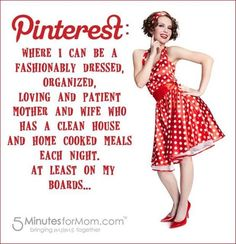 Pinterest: Where I can....