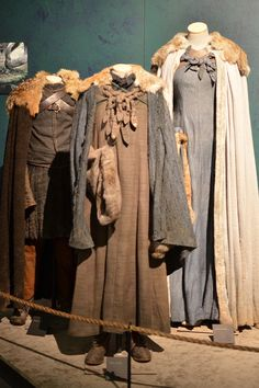 The show's costumes go through a two-week distressing, breaking-down, and aging process once they've been created so they'll come across as authentic, even in HD.
