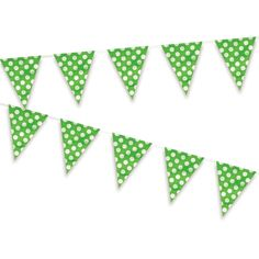 Un simpático banderín para decorar fiestas, de www.fiestafacil.com / A sweet pennant banner for party decorations, from www.fiestafacil.com