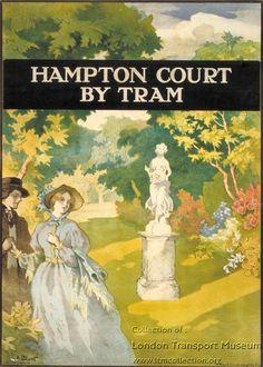 Hampton Court ~ Arthur Blunt