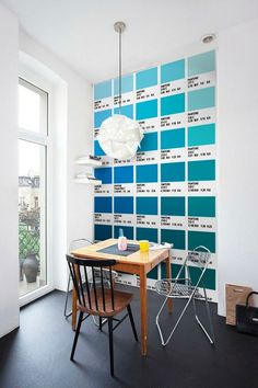 Autocollant Carrelage Pantones Modèle Bleu (Pack avec 56) (20 x 20 cm): Amazon.fr: Cuisine & Maison