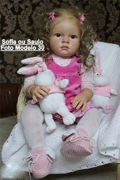 boneca bebê reborn sofia ou saulo parece bebê de verdade 7912820189e