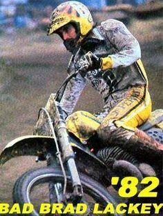 Brad Lackey # 1982 # motocross