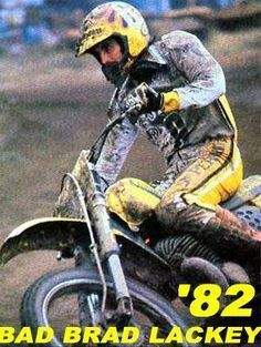 Brad Lackey # 1982 # motocross