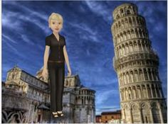 AR Physics Lesson/Leaning Tower of Pisa
