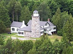 Split Rock Lighthouse  Image via www.lighthousefriends.com