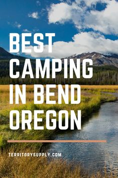 Bend, Oregon is one of the premier outdoor destinations in the Pacific Northwest. Here's the best places to go camping in the Bend area. Bend, Central Oregon, Oregon Coast, Portland Oregon, Oregon Camping, Oregon Travel, Travel Usa, Beach Travel, Buenos Aires