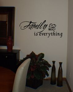 Family Is Everything | Wall Decals from www.tradingphrases.com