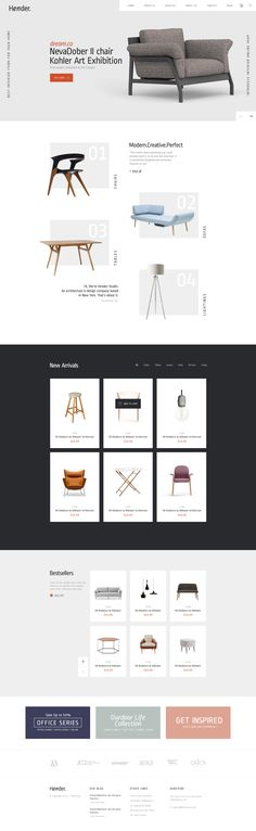 Hender - Architecture and Interior Design Agency PSD Template #web design #construction #buerau • Download ➝ https://themeforest.net/item/hender-architecture-and-interior-design-agency-psd-template/18030192?ref=pxcr