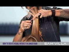 How To Create Visual Interest & Dimension In Longer Hair