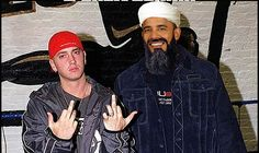 Chicka-chicka go have sex with yourself. B'Lack Osama and Eminem