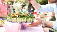A rooftop rehearsal proves to be the ultimate celebration complete with sangria and flower crowns. Rehearsal Dinners, Tablescapes, Vintage Inspired, Amanda, Matilda, Table Decorations, Pretty, Recipes, Food