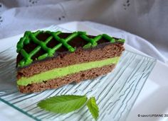Tort cu menta si ciocolata After Eight