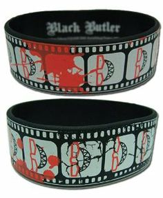 Wristband of Grell Sutcliff from the anime, Black Butler/Kuroshitsuji