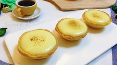 These baked cheese tart originates from japan, their original recipe contains 3 different types of cream cheese.    This inspired us to cre...